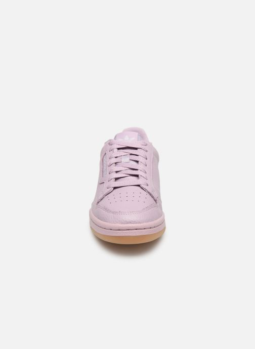 Baskets adidas originals Continental 80 W Violet vue portées chaussures