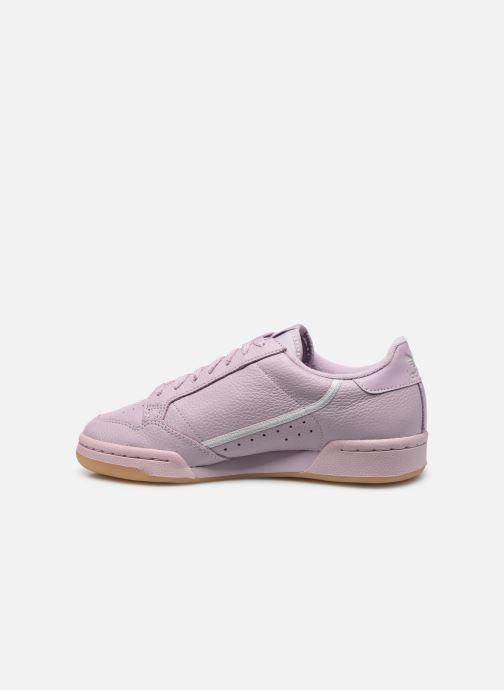 Baskets adidas originals Continental 80 W Violet vue face