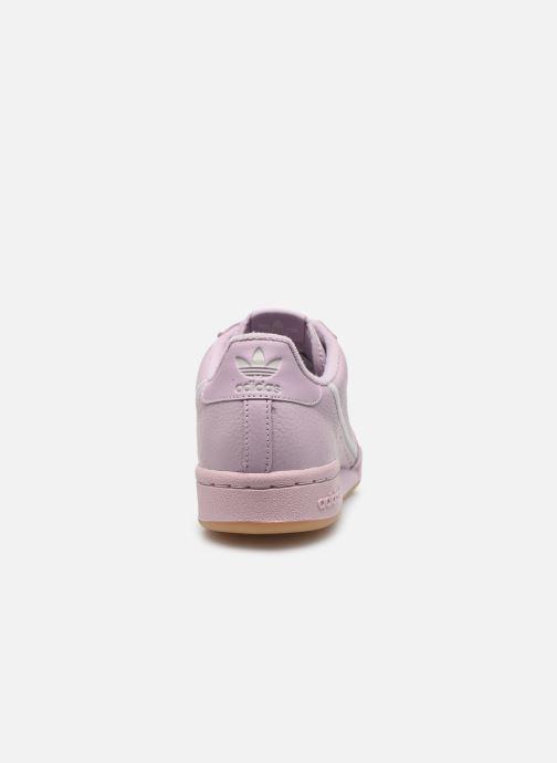 Baskets adidas originals Continental 80 W Violet vue droite