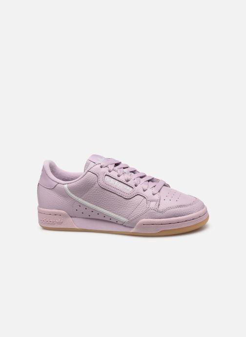 Baskets adidas originals Continental 80 W Violet vue derrière