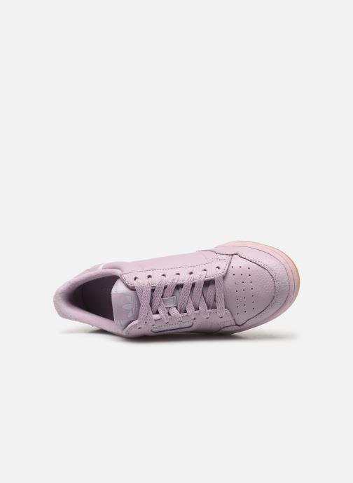 Baskets adidas originals Continental 80 W Violet vue gauche
