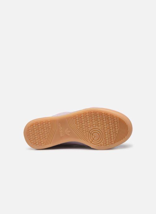 Baskets adidas originals Continental 80 W Violet vue haut
