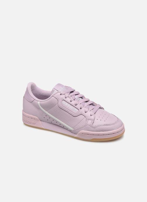 Baskets adidas originals Continental 80 W Violet vue détail/paire