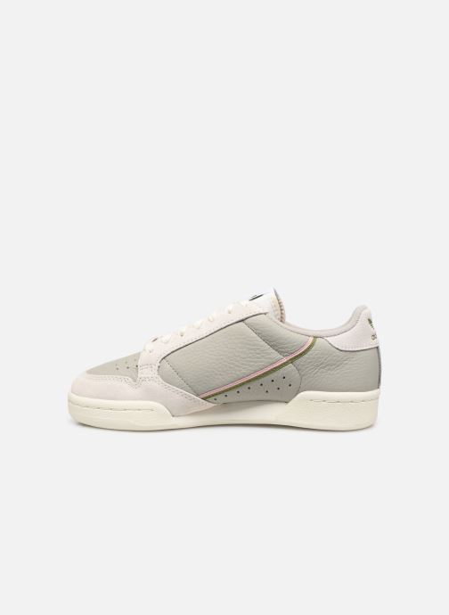 Sneakers adidas originals Continental 80 W Grijs voorkant