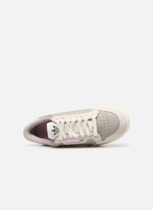 Sneakers adidas originals Continental 80 W Grijs links