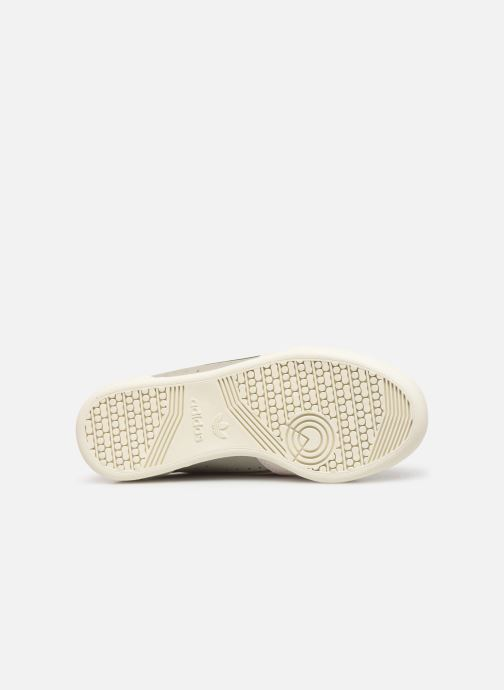 Baskets adidas originals Continental 80 W Gris vue haut