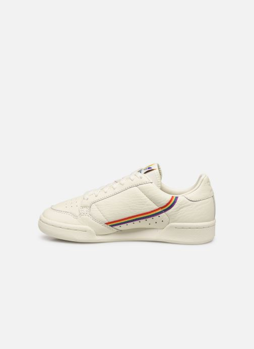 Deportivas adidas originals Continental 80 W Blanco vista de frente