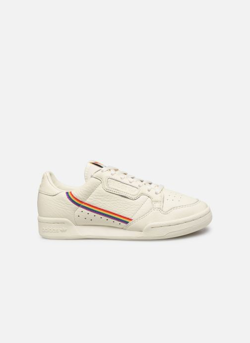 Deportivas adidas originals Continental 80 W Blanco vistra trasera