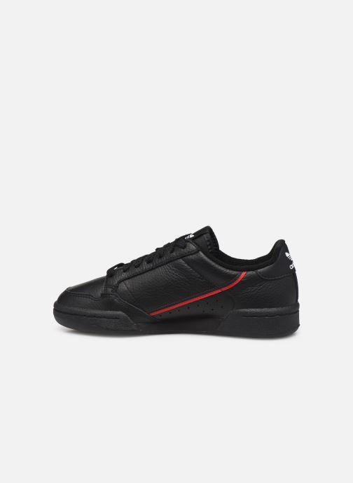 Baskets adidas originals Continental 80 W Noir vue face