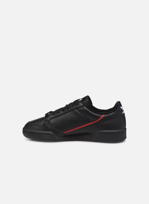 Trainers adidas originals Continental 80 W Black front view