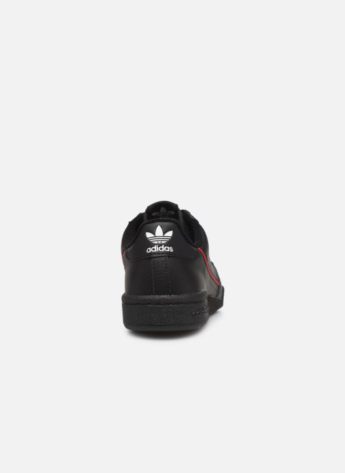 Trainers adidas originals Continental 80 W Black view from the right