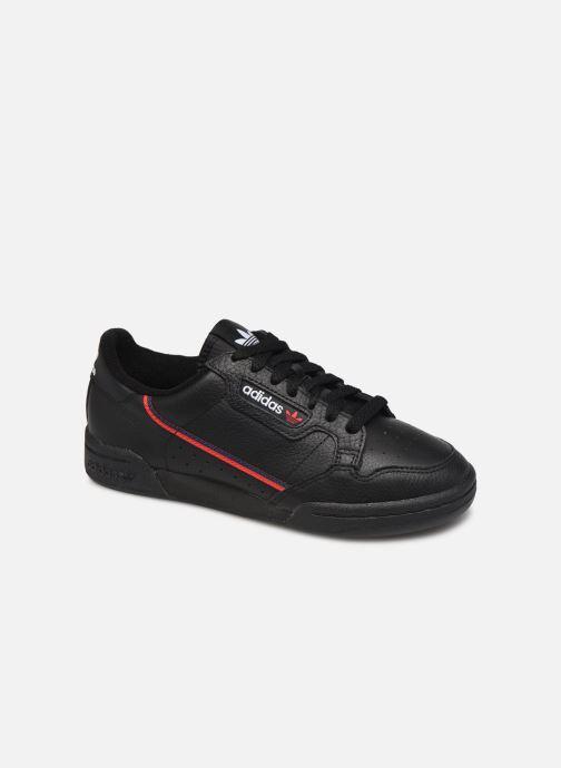 Baskets adidas originals Continental 80 W Noir vue détail/paire