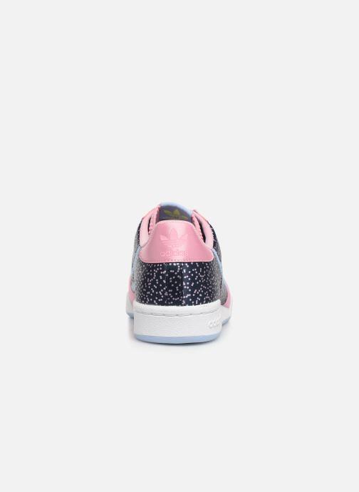 Sneakers adidas originals Continental 80 W Blauw rechts