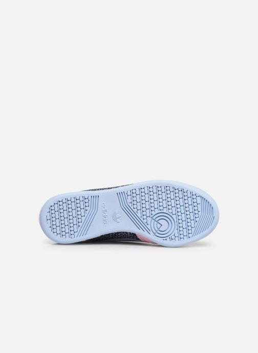 Sneaker adidas originals Continental 80 W blau ansicht von oben