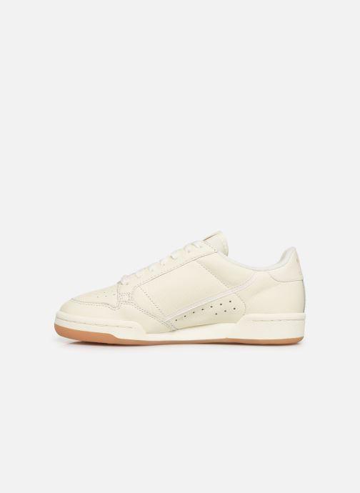 Sneakers adidas originals Continental 80 W Wit voorkant