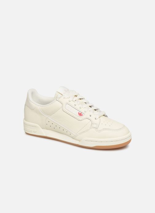 Baskets adidas originals Continental 80 W Blanc vue détail/paire