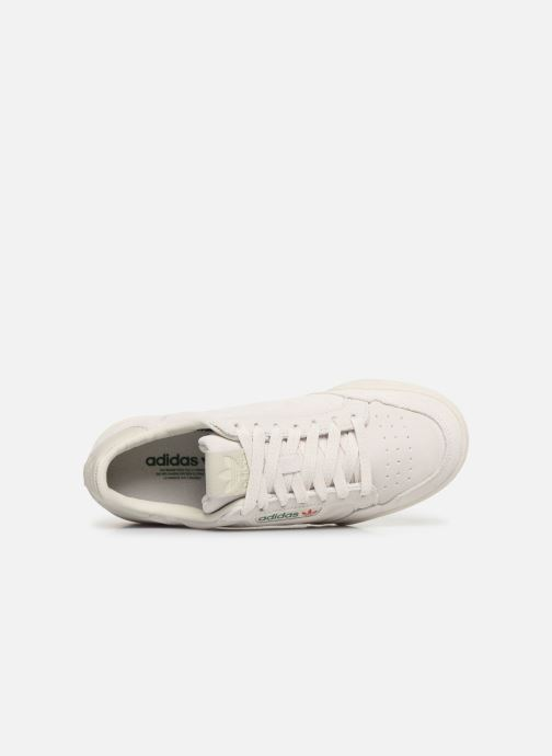 Baskets adidas originals Continental 80 W Beige vue gauche