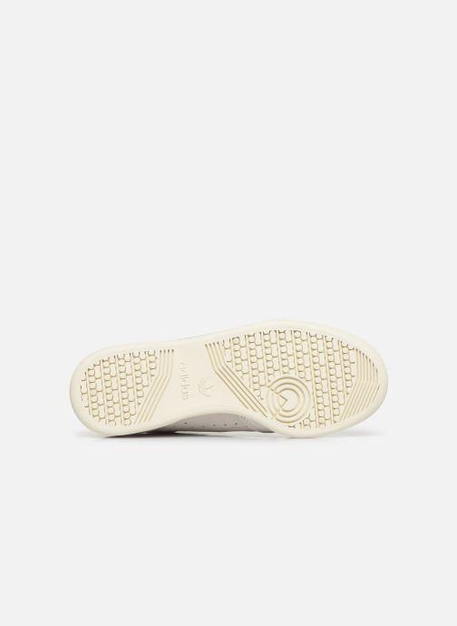 Baskets adidas originals Continental 80 W Beige vue haut