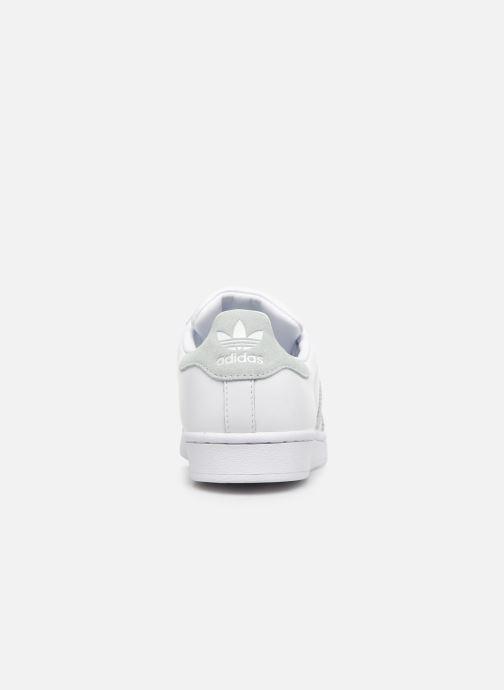 Deportivas adidas originals Continental 80 W Blanco vista lateral derecha