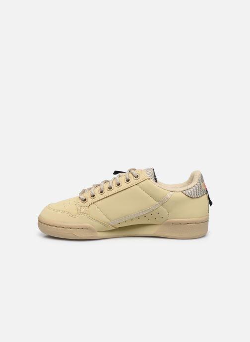 Baskets adidas originals Continental 80 W Beige vue face