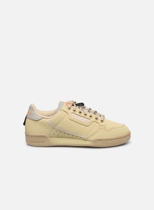 Baskets adidas originals Continental 80 W Beige vue derrière