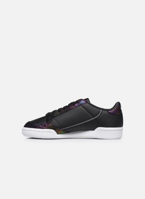 Baskets adidas originals Continental 80 W Noir vue face