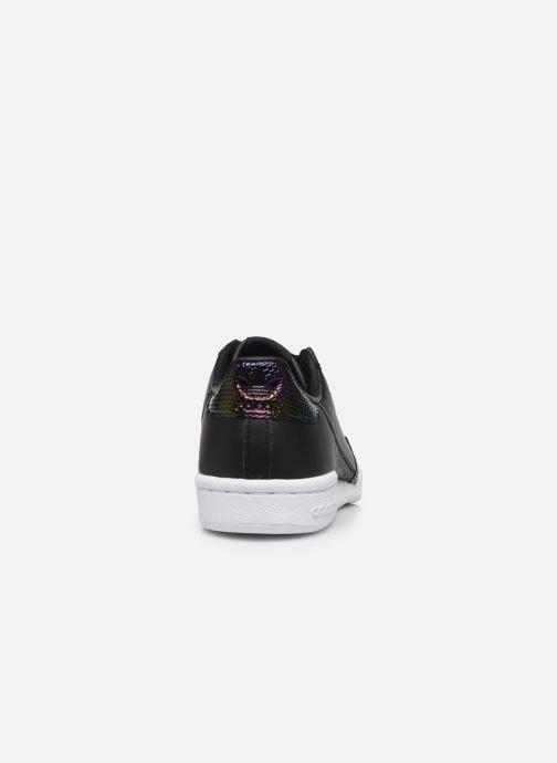 Baskets adidas originals Continental 80 W Noir vue droite