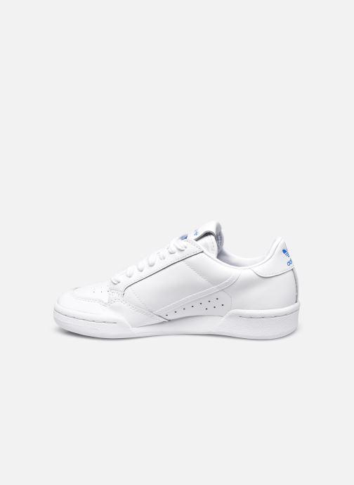 Baskets adidas originals Continental 80 W Blanc vue face