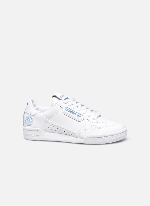 Baskets adidas originals Continental 80 W Blanc vue derrière