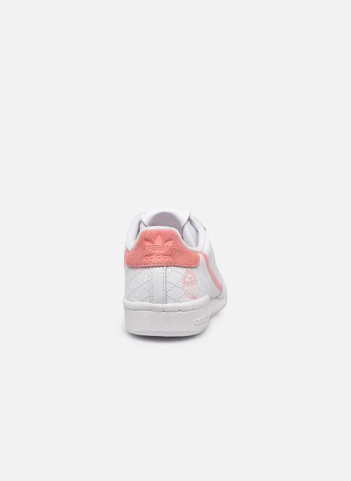Sneakers adidas originals Continental 80 W Bianco immagine destra