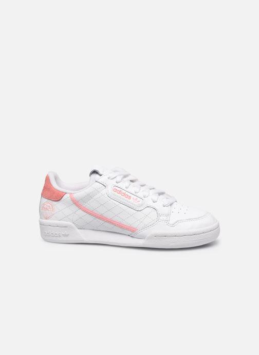 Sneakers adidas originals Continental 80 W Bianco immagine posteriore