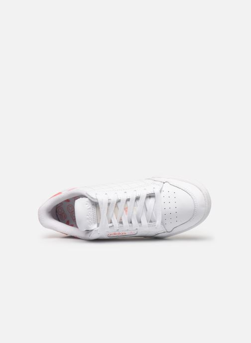 Sneakers adidas originals Continental 80 W Bianco immagine sinistra