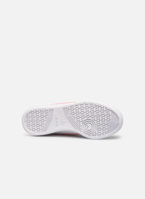 Sneakers adidas originals Continental 80 W Bianco immagine dall'alto