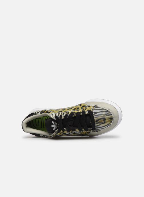 Sneaker adidas originals Continental 80 W schwarz ansicht von links