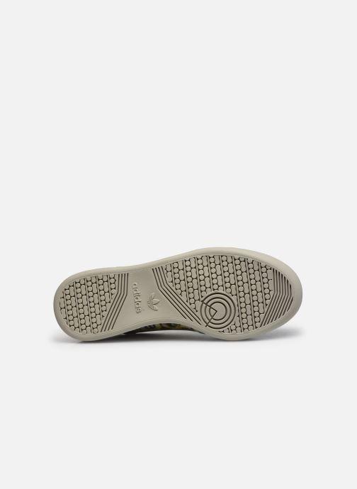 Sneaker adidas originals Continental 80 W schwarz ansicht von oben