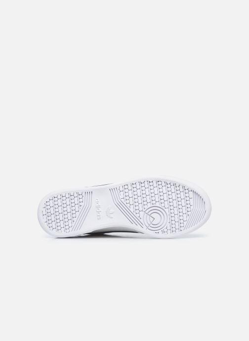 Baskets adidas originals Continental 80 W Blanc vue haut