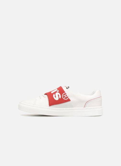 Sneakers Levi's Batwing Sneaker Wit voorkant