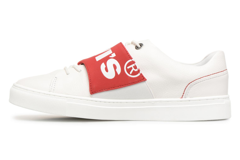 Sneakers Levi's Batwing Sneaker Bianco immagine frontale