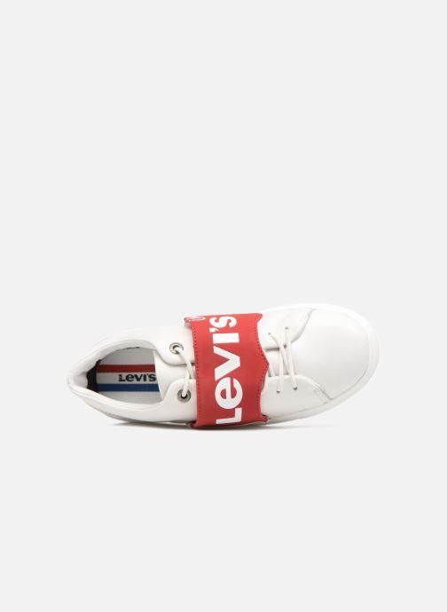 Deportivas Levi's Batwing Sneaker W Blanco vista lateral izquierda