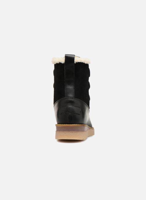 Bottines et boots Vero Moda VmAne leather boot Noir vue droite
