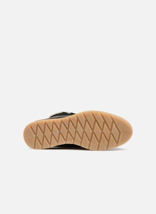 Bottines et boots Vero Moda VmAne leather boot Noir vue haut