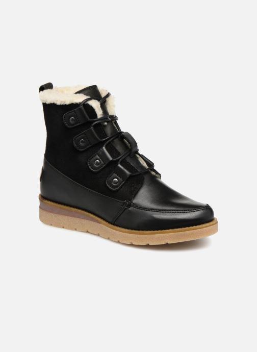 Bottines et boots Vero Moda VmAne leather boot Noir vue détail/paire