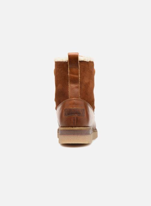 Bottines et boots Vero Moda VmAne leather boot Marron vue droite