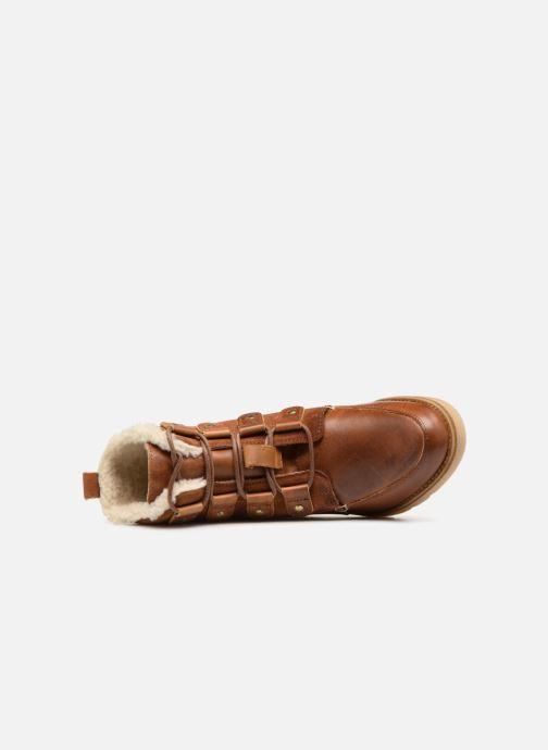Bottines et boots Vero Moda VmAne leather boot Marron vue gauche