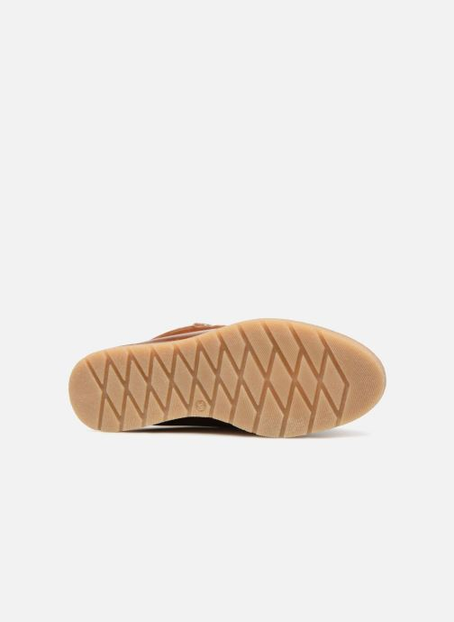 Bottines et boots Vero Moda VmAne leather boot Marron vue haut