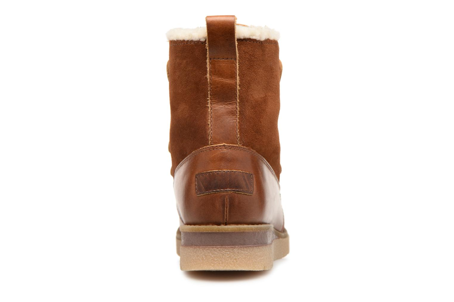 Ankle boots Vero Moda VmAne leather boot Brown view from the right