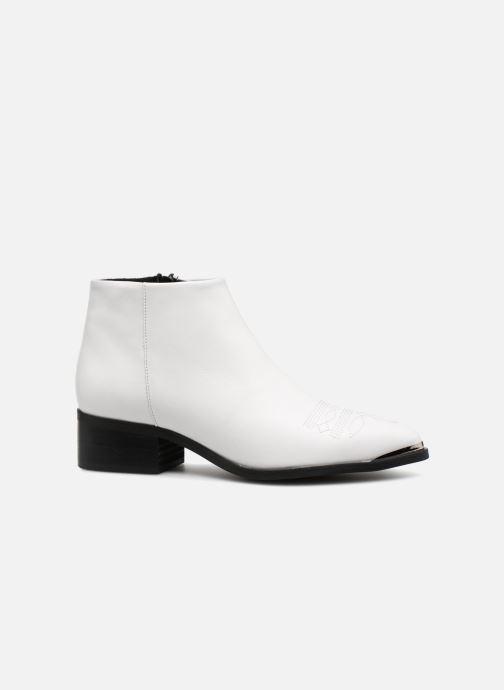 Boots en enkellaarsjes Vero Moda VmBella leather boot Wit achterkant