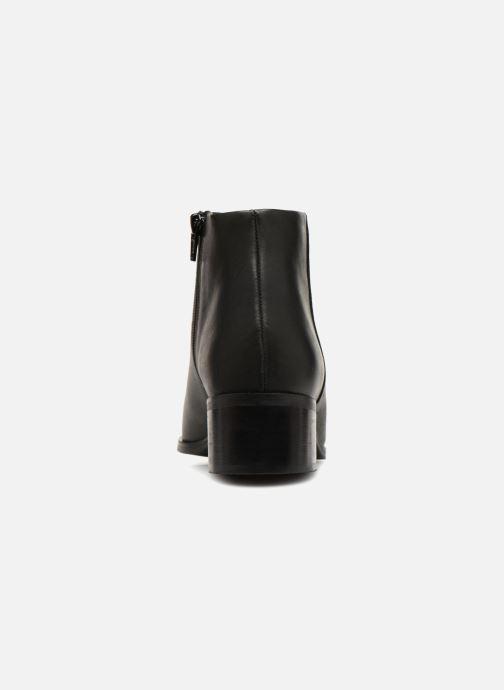 Ankelstøvler Vero Moda VmBella leather boot Sort Se fra højre