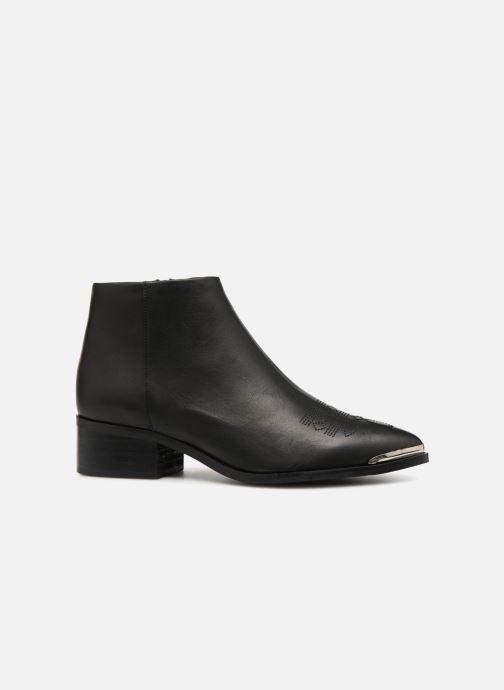 Boots en enkellaarsjes Vero Moda VmBella leather boot Zwart achterkant