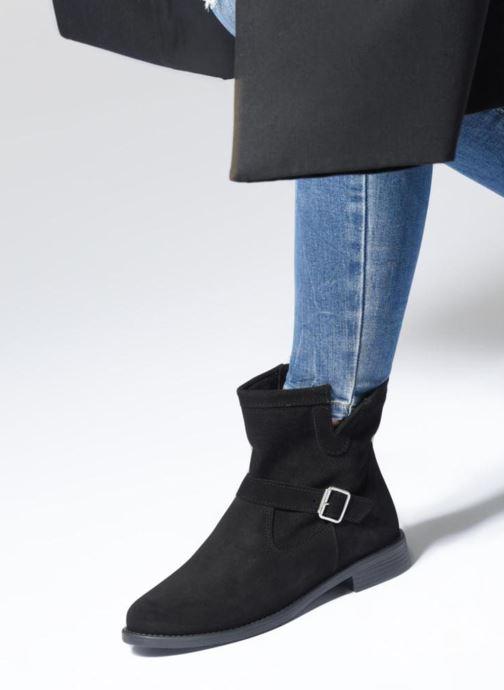 Bottines et boots Vero Moda VmDay leather boot Noir vue bas / vue portée sac